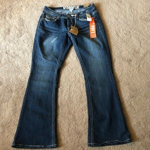 Hydraulic Jeans Lola Curvy Flare Jeans 14W (R)